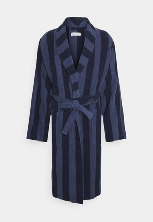 Dressing gown - dark blue/blue