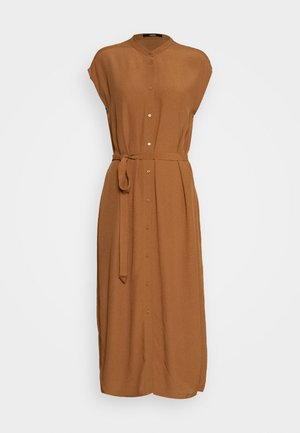QUITO - Košilové šaty - roasted hazel