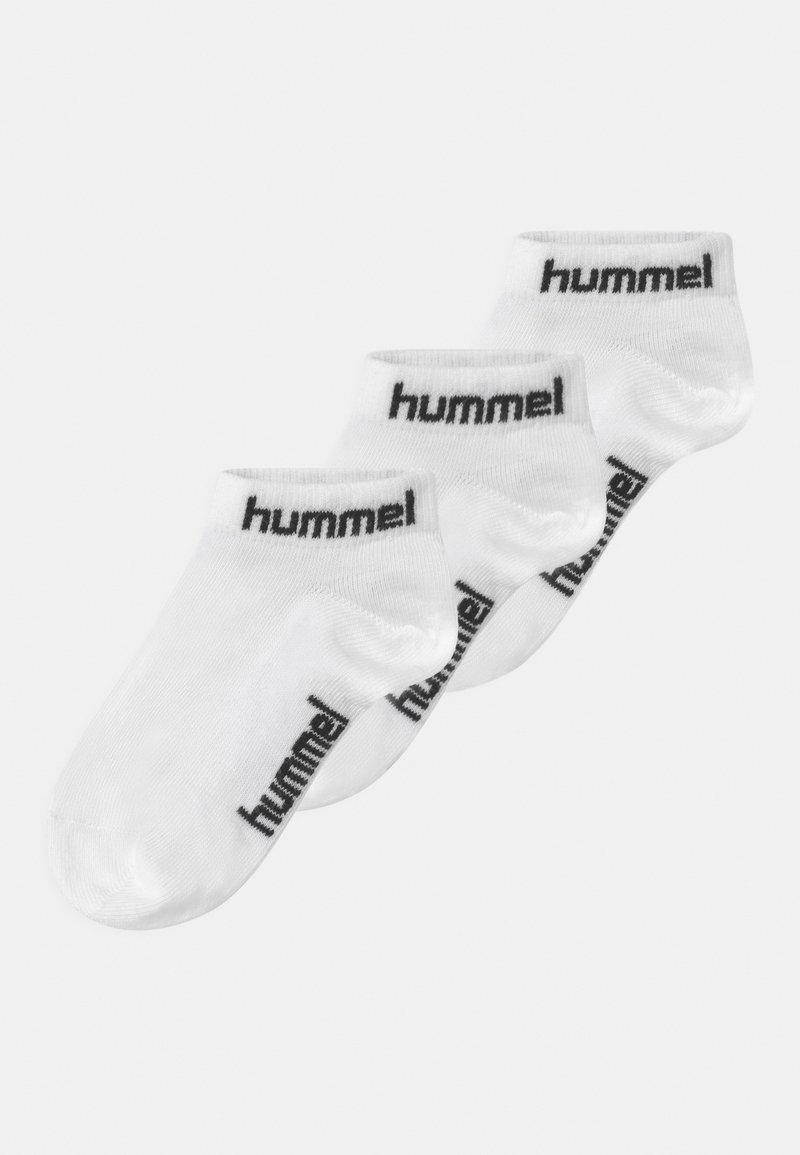 Hummel - TORNO 3 PACK UNISEX - Trainer socks - white