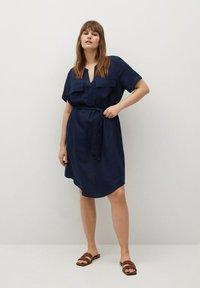 Violeta by Mango - COTILI - Day dress - marineblau - 1
