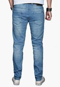 Alessandro Salvarini - Slim fit jeans - hellblau - 1