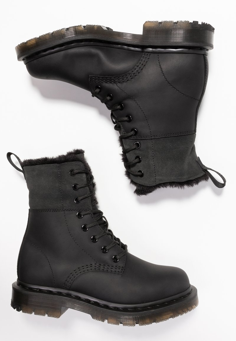 Dr Martens 1460 Kolbert Snowplow Lace Up Ankle Boots Black Zalando Ie