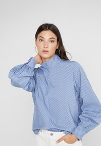 Won Hundred - MEREDITH - Bluse - classic blue check - 4