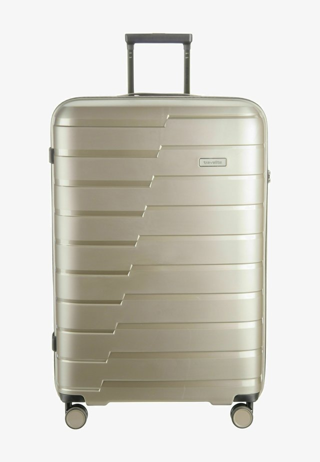 Wheeled suitcase - champagner