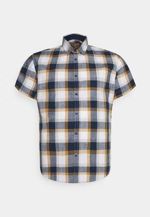 JORDAN CHECK SHIRT - Shirt - mustard