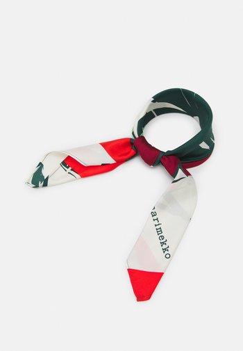 JOSINA ISO MEHU SCARF - Foulard - green/red