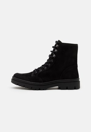 COLSON - Lace-up ankle boots - black