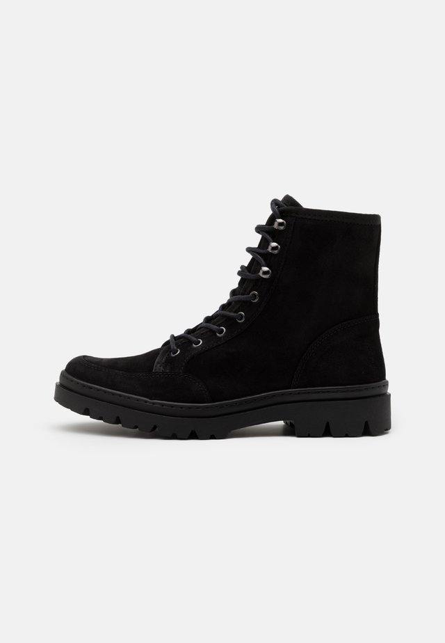 COLSON - Bottines à lacets - black