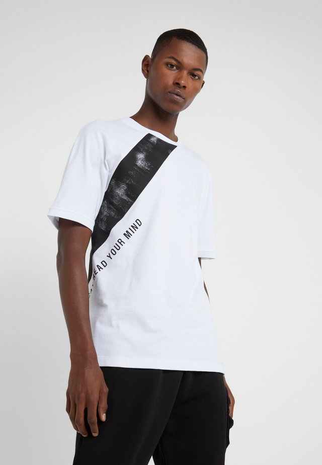 TIES - T-shirt print - white