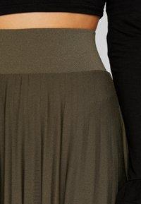 Anna Field Petite - A-line skirt - olive night - 4