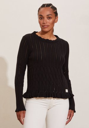 PRETTY ON THE LOOSE - Jumper - almost black