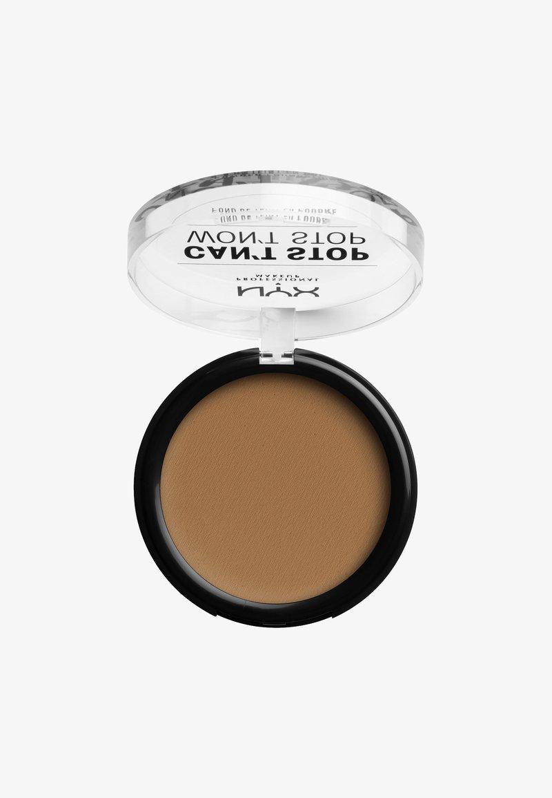 Nyx Professional Makeup - CAN'T STOP WON'T STOP POWDER FOUNDATION - Powder - CSWSPF15PT9 warm honey