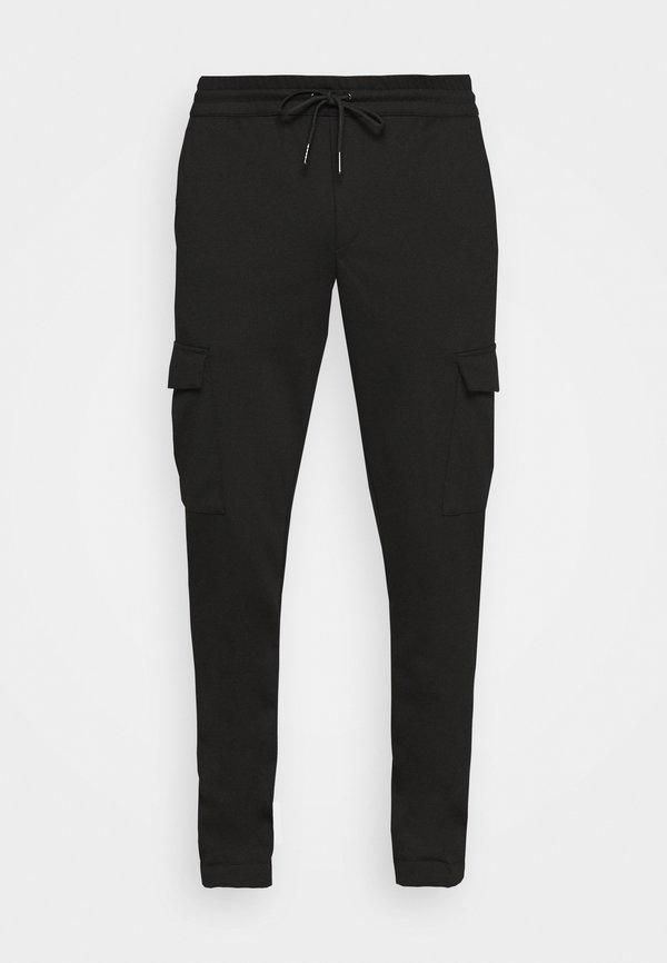 Jack & Jones JJIWILL JJPHIL - Spodnie treningowe - black/czarny Odzież Męska PDBW