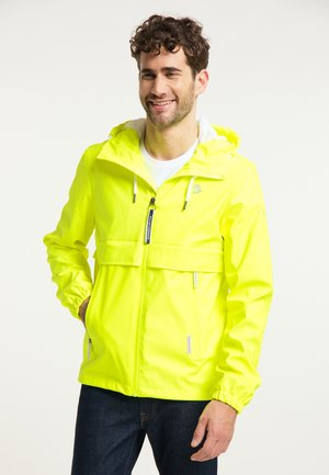 Outdoor jacket - neongelb