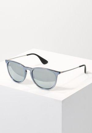 ERIKA - Sunglasses - green mirror/silver-coloured