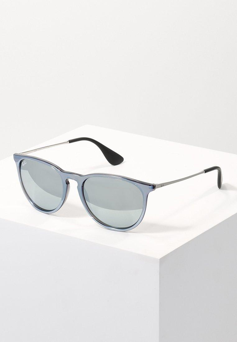 Ray-Ban - 0RB4171 ERIKA - Okulary przeciwsłoneczne - green mirror/silver-coloured