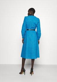 MICHAEL Michael Kors - EYELT KATE DRESS - Day dress - cyan blu - 2