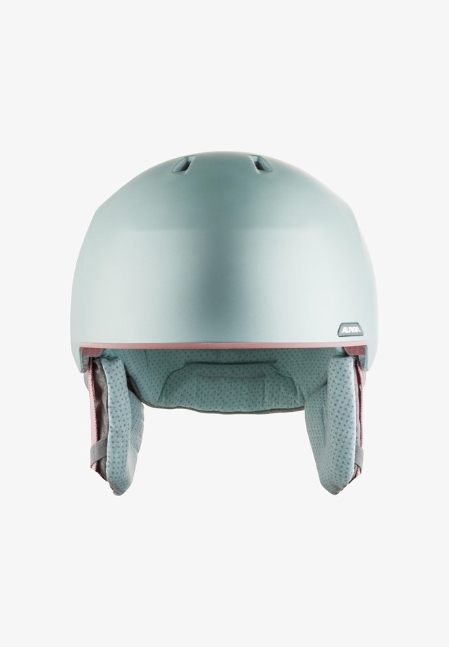 ALBONA - Helmet - seagreen-coral matt