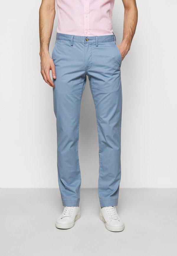 Polo Ralph Lauren BEDFORD PANT - Chinosy - channel blue/jasnoniebieski Odzież Męska ECBY