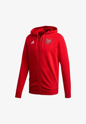 ARSENAL FC SPORTS FOOTBALL HOODED JACKET - Club wear - scarlet