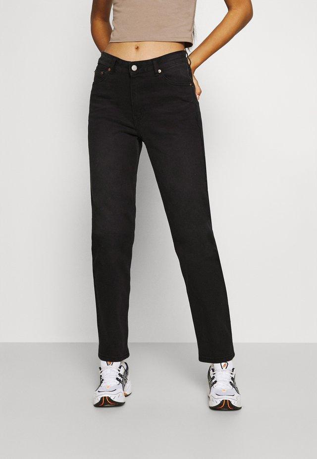 LI - Jeans straight leg - gritstone black