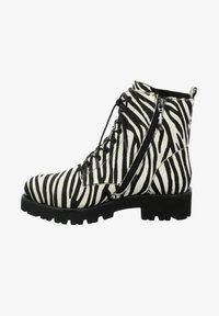 Tizian - BOSTON - Lace-up ankle boots - zebra - 0