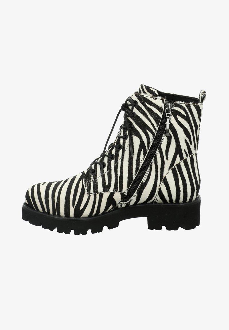 Tizian - BOSTON - Lace-up ankle boots - zebra
