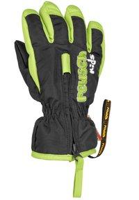 Reusch - BEN - Gloves - black / neon green - 1