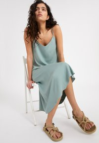 ARMEDANGELS - AASY - A-line skirt - eucalyptus green - 4