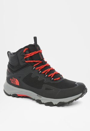 M ULTRA FASTPACK IV MID FUTURELIGHT - Hiking shoes - tnf black/fiery red