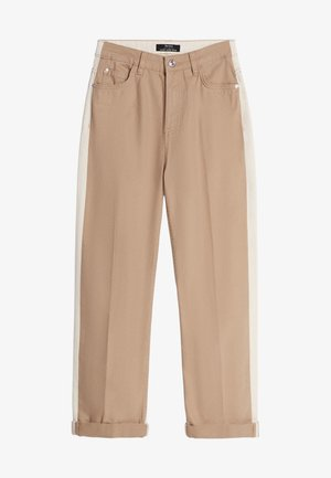 MIT KONTRASTFARBENEM DETAIL 05085019 - Trousers - beige