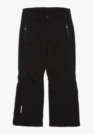 LANGDON - Zimní kalhoty - black