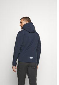 CMP - MAN ZIP HOOD JACKET - Soft shell jacket - blue/acido - 2