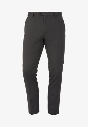 SUIT TROUSERS - Kostymbyxor - grey