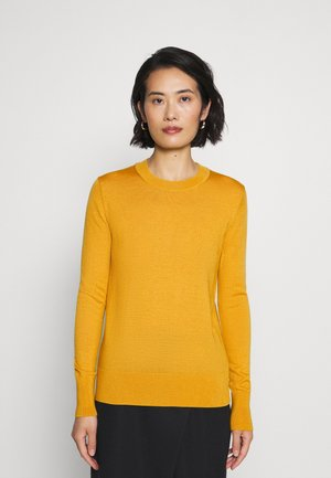 Strickpullover - gold yellow