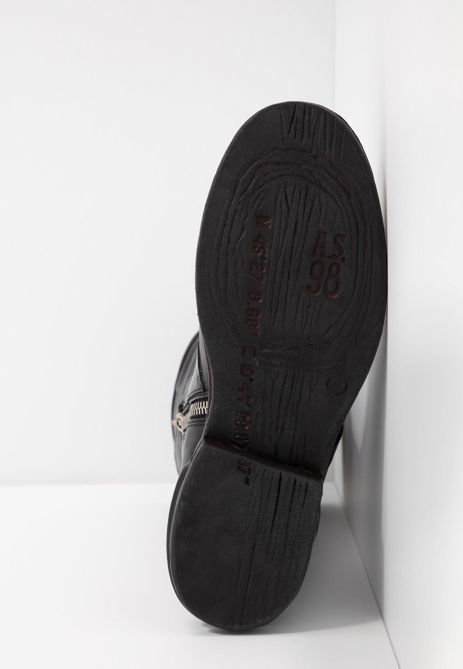 A.S.98 Stiefel nero/schwarz