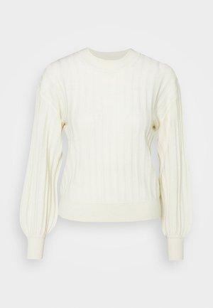 BLOSSON - Sweter - cream