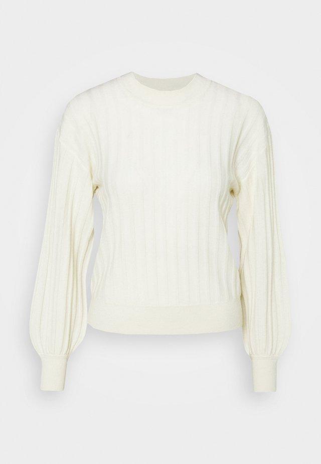BLOSSON - Pullover - cream