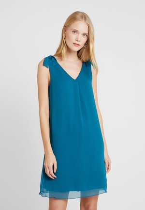 DRESS WITH KNOT DETAIL - Day dress - tropical lagoon/green