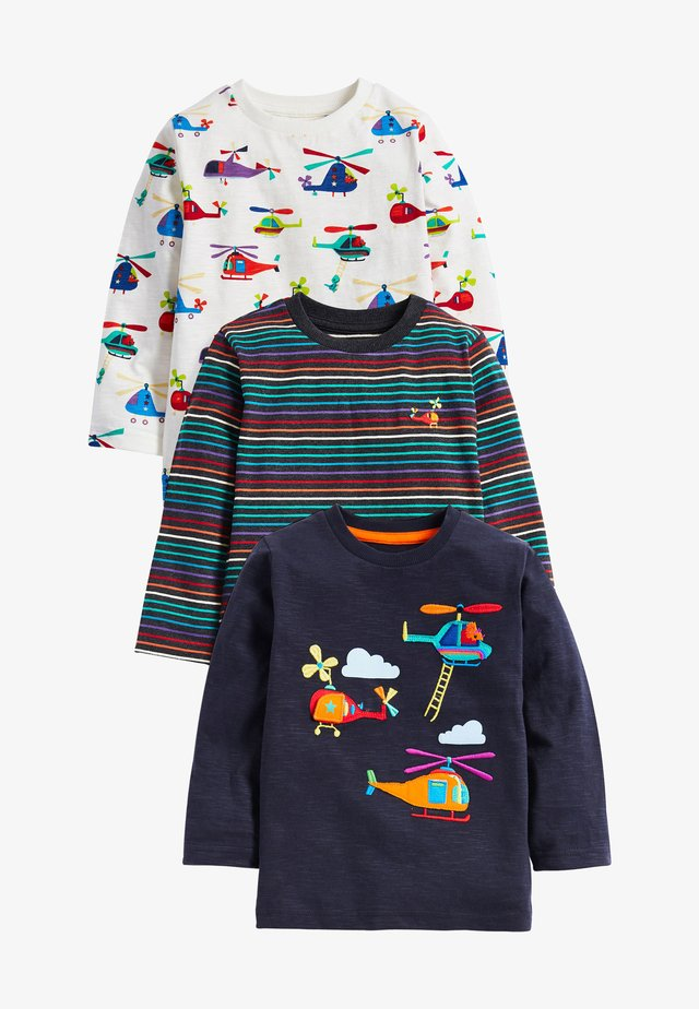 3 PACK - Camiseta de manga larga - blue