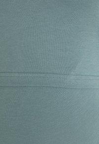 Anna Field MAMA - NURSING 3er PACK - Top - Top - dark blue/teal /light grey - 6