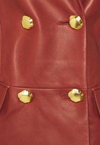 Bally - Leather jacket - spice - 7