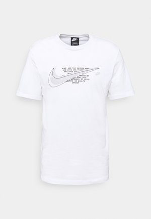 COURT TEE - Print T-shirt - white