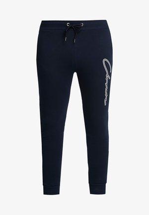DOUBLE SCRIPT JOGGER - Teplákové kalhoty - navy