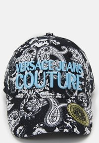 Versace Jeans Couture - Kšiltovka - black/white - 3
