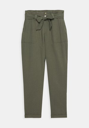 ONLLAUREN EMERY PANTS  - Trousers - grape leaf
