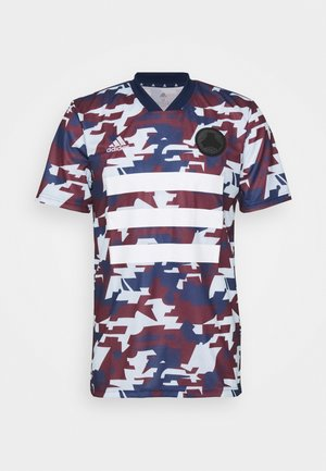 TANGO AEROREADY SPORTS FOOTBALL - Print T-shirt - blue/light blue/bordeaux
