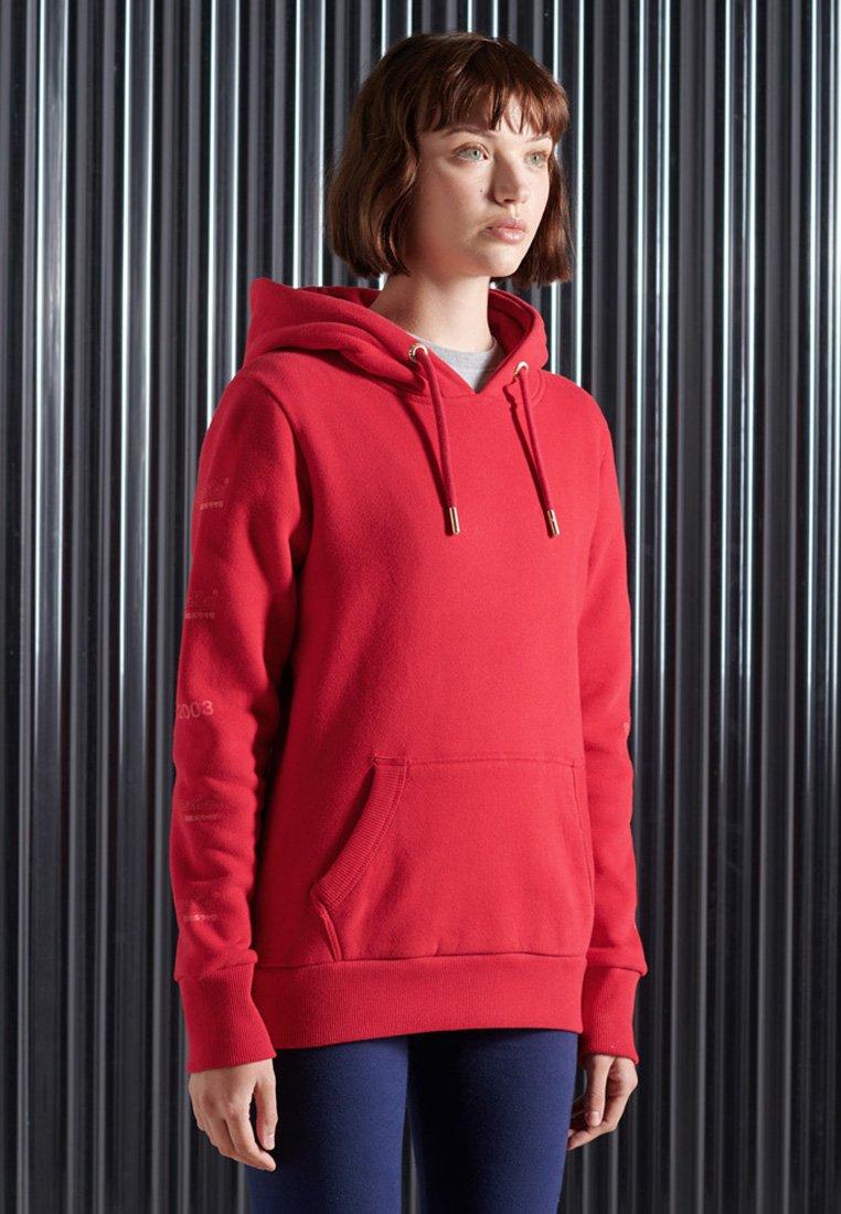 Superdry - VINTAGE - Hoodie - rouge red