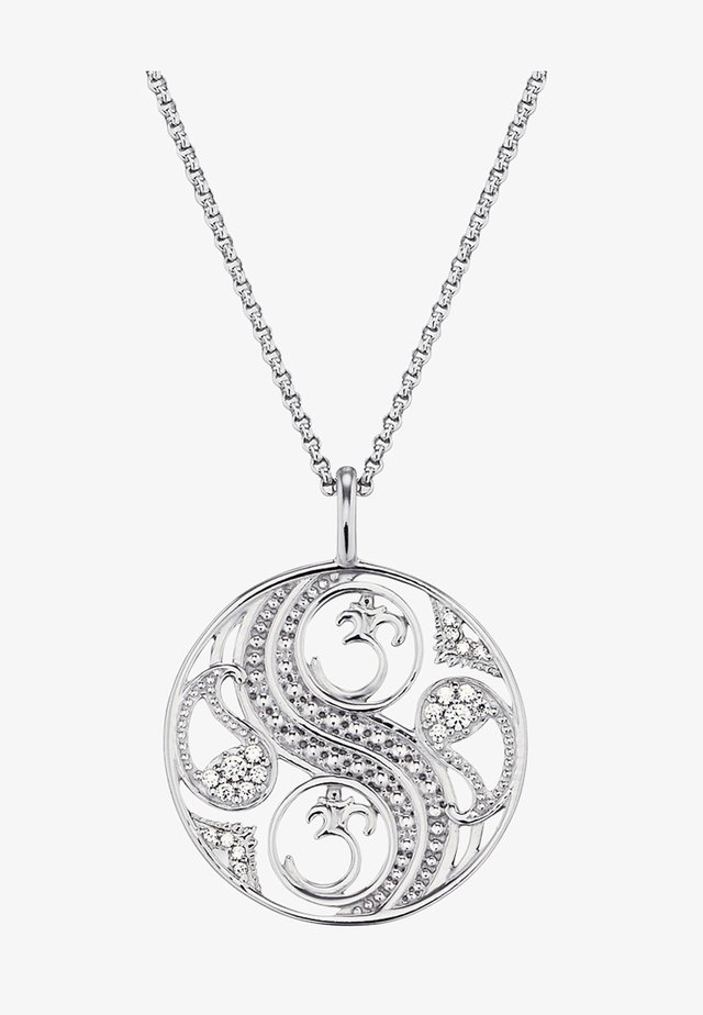 Halskette - silver-cloured