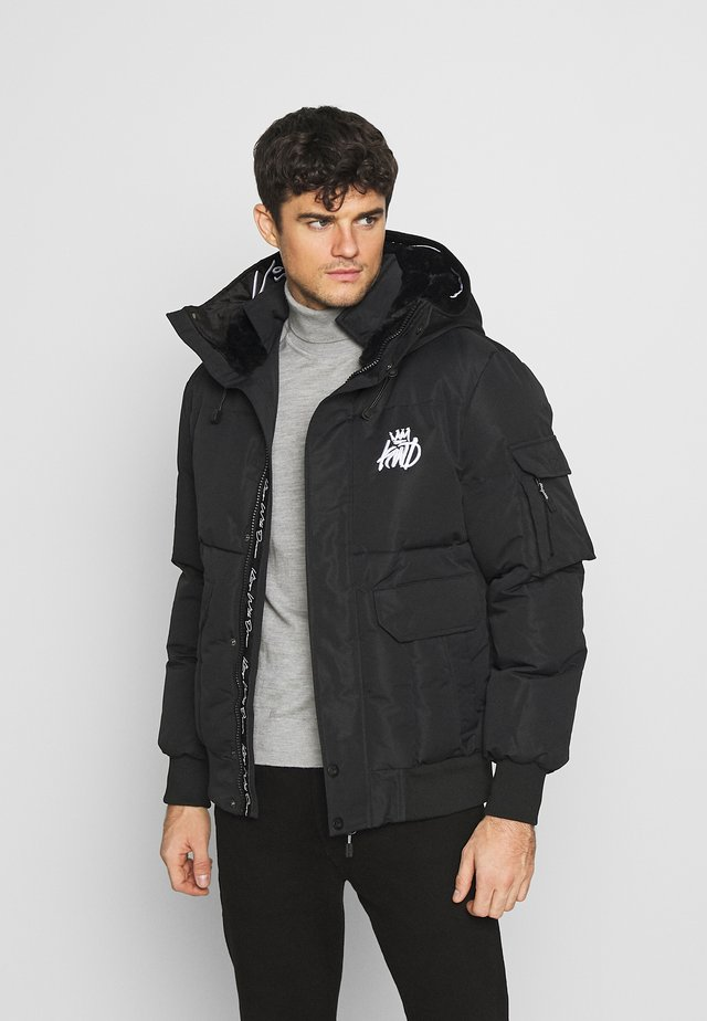 MILFORD PUFFER JACKET - Winterjas - black
